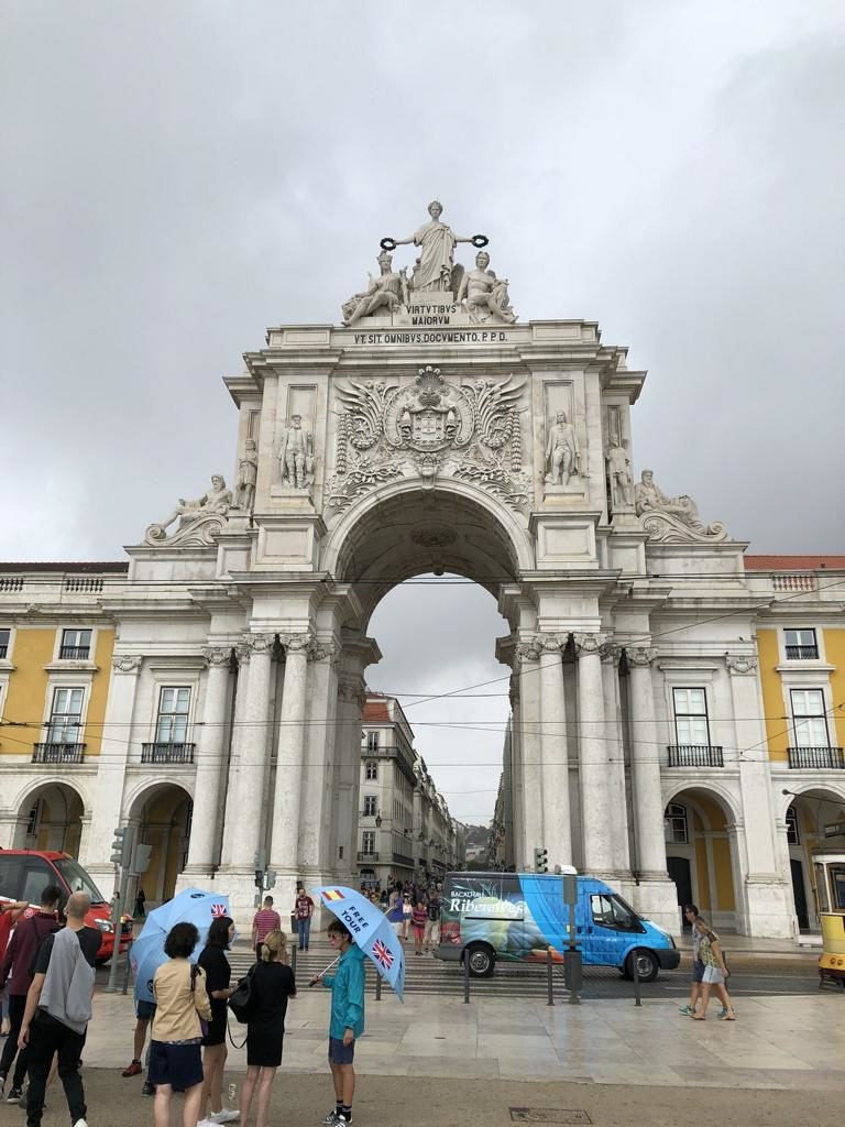 Arco do Triunfo Lissabon